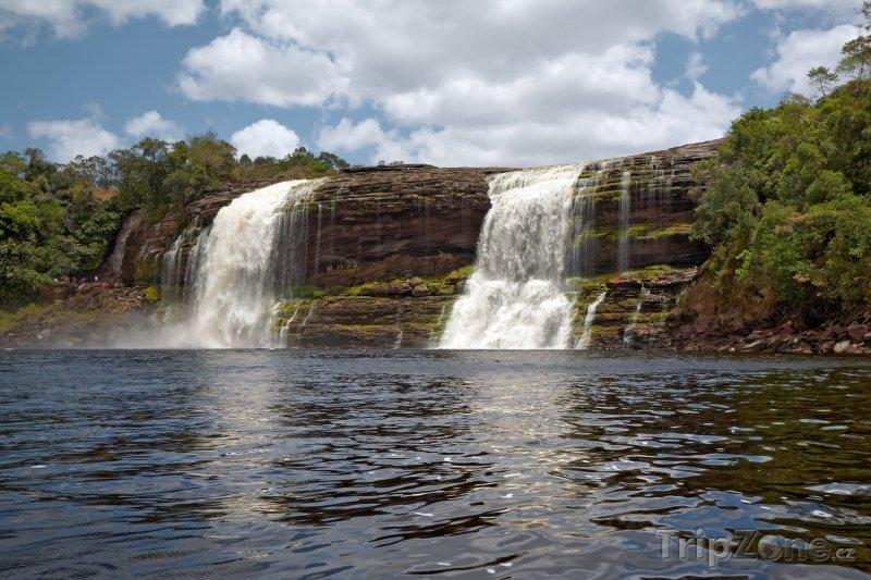 Fotka, Foto Vodopády v národním parku Canaima (Venezuela)