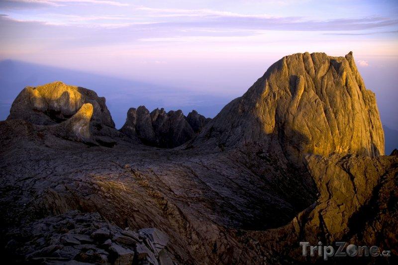 Fotka, Foto Vrchol hory Kinabalu (Malajsie)