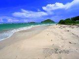 Vyhlášená pláž Anse de Sables