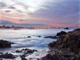 Západ slunce nad Port Elizabeth