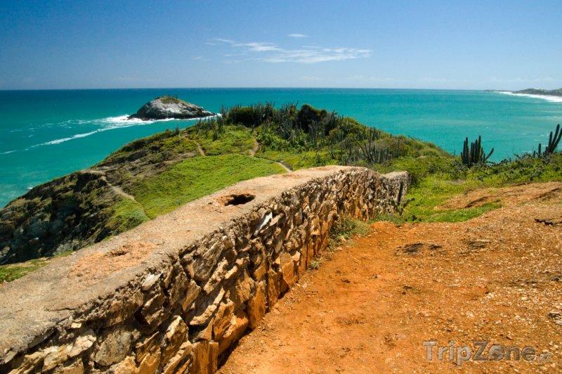 Fotka, Foto Zeď na ostrově Isla de Margarita (Venezuela)