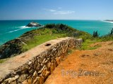 Zeď na ostrově Isla de Margarita