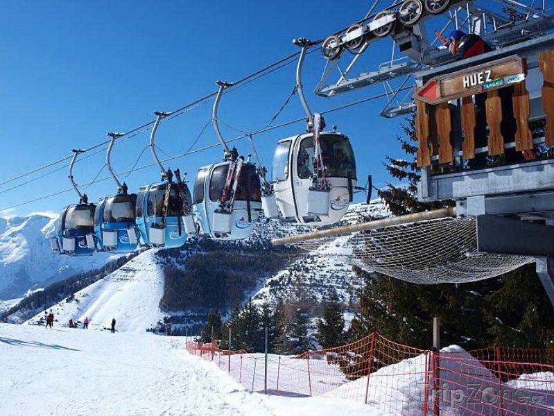 Fotka, Foto Alpe d'Huez, lanovka