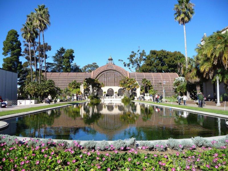 Fotka, Foto Balboa Park, botanická zahrada (San Diego, USA)
