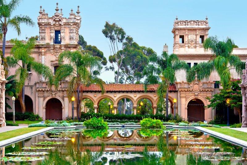 Fotka, Foto Balboa Park, Casa de Balboa (San Diego, USA)