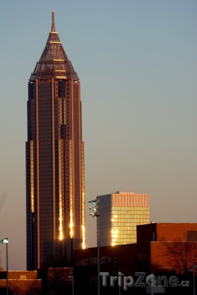 Fotka, Foto Bank of America Plaza (Atlanta, USA)