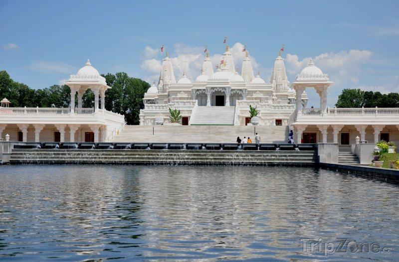 Fotka, Foto BAPS Shri Swaminarayan Mandir (Atlanta, USA)