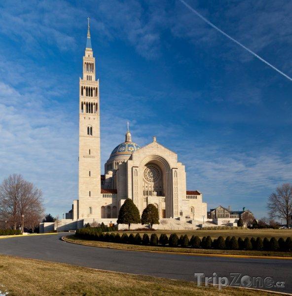 Fotka, Foto Bazilika národní svatyně (Washington D.C., USA)
