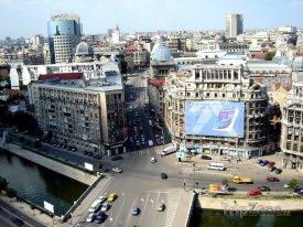 Bukurešť, centrum města