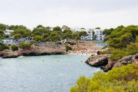 Cala d'Or, pláž Cala Esmeralda