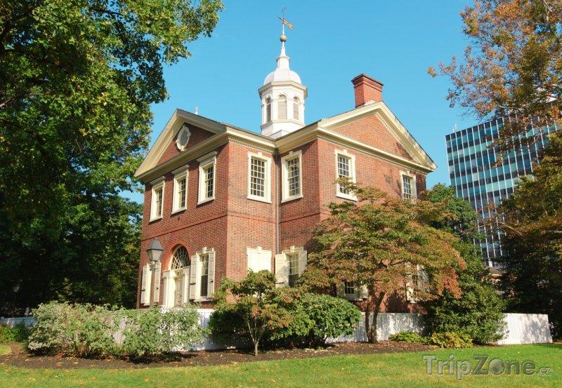 Fotka, Foto Carpenters' Hall (Filadelfie, USA)