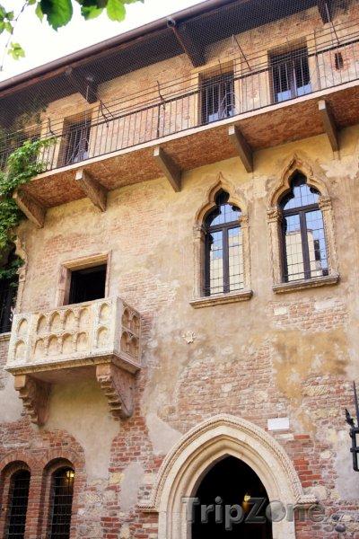 Fotka, Foto Casa di Giulietta, dům rodu Capuletů (Verona, Itálie)