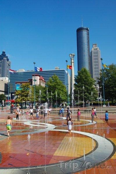 Fotka, Foto Centennial Olympic Park (Atlanta, USA)