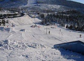 Červenohorské sedlo, snowpark