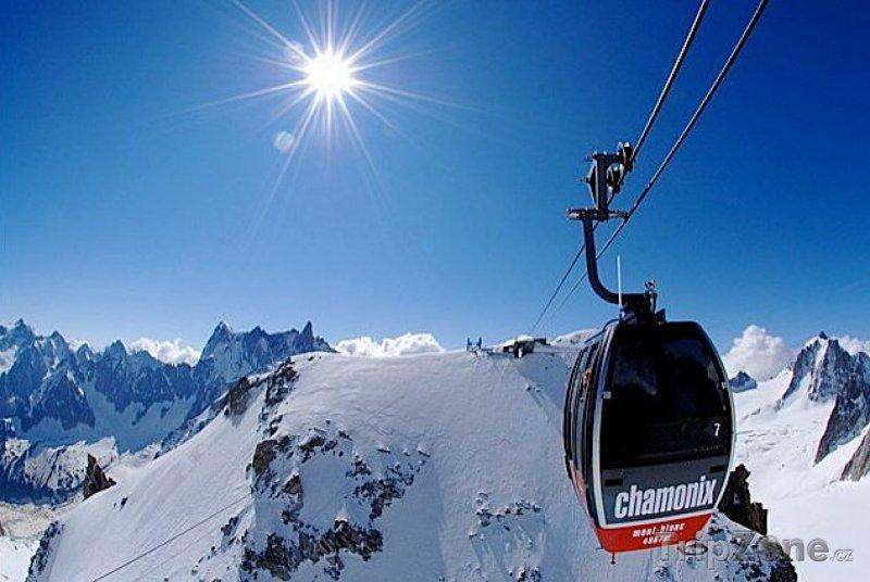 Fotka, Foto Chamonix, lanovka
