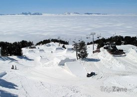 Chamrousse, snowpark