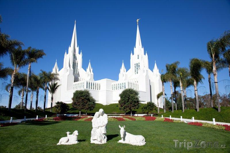 Fotka, Foto Chrám církve Ježíše Krista Svatých posledních dnů (San Diego, USA)