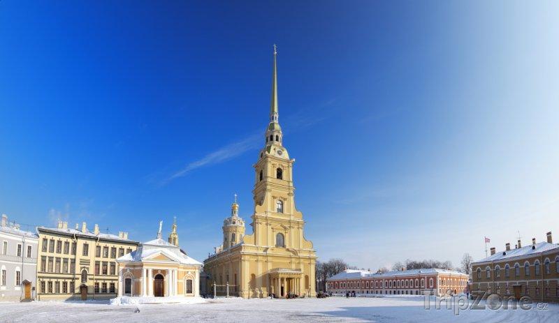 Fotka, Foto Chrám svatých Petra a Pavla (Petrohrad, Rusko)
