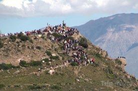 Cruz del Cóndor, pozorování Kondorů