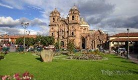 Cusco, chrám Companía de Jesús