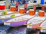 Dračí lodě v přístavu