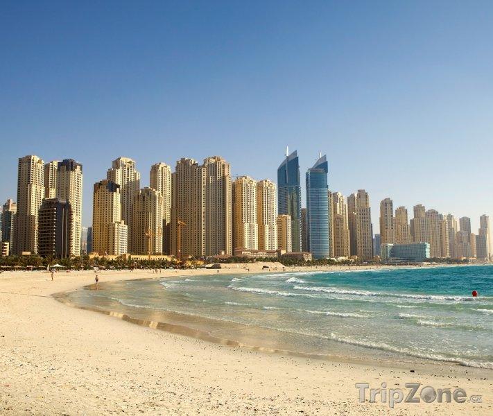 Fotka, Foto Dubajská pláž (Dubaj, Spojené arabské emiráty)