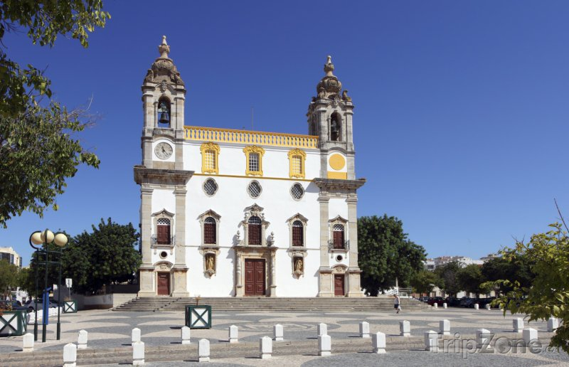 Fotka, Foto Faro, kostel Carmo (Portugalsko)