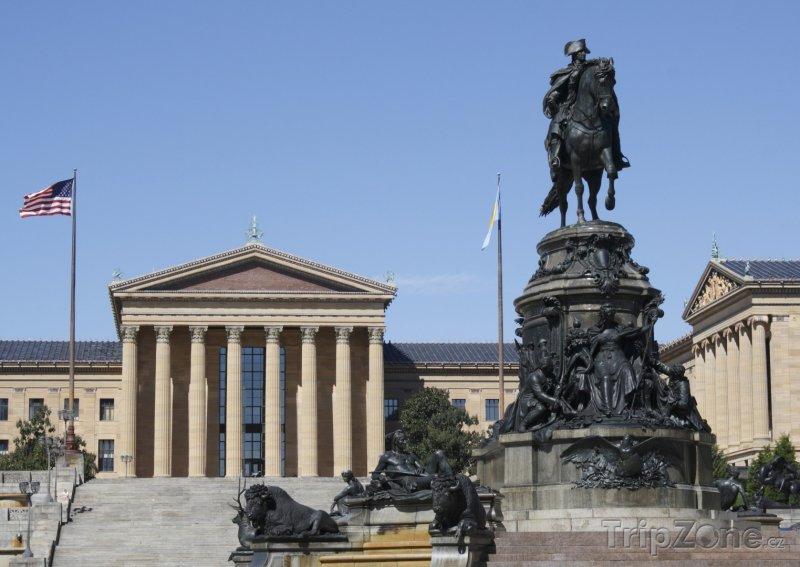 Fotka, Foto Filadelfské Muzeum umění (Filadelfie, USA)