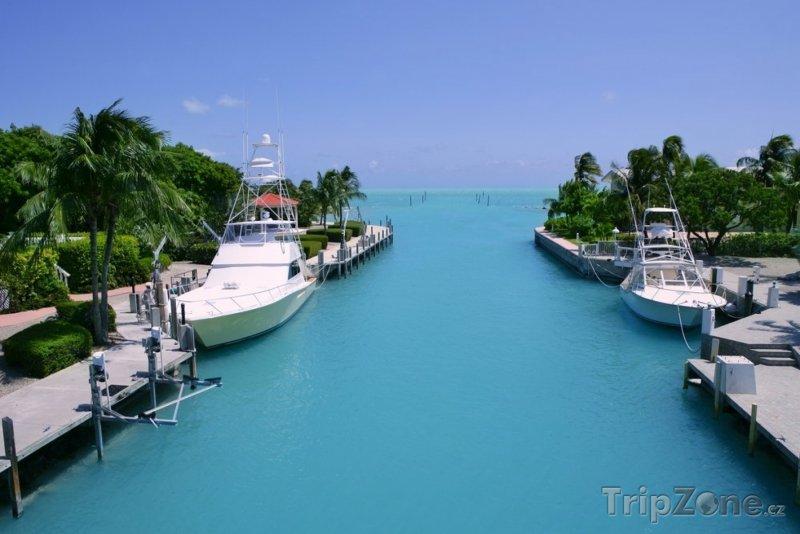 Fotka, Foto Florida Keys - rybářské lodě (Miami, USA)