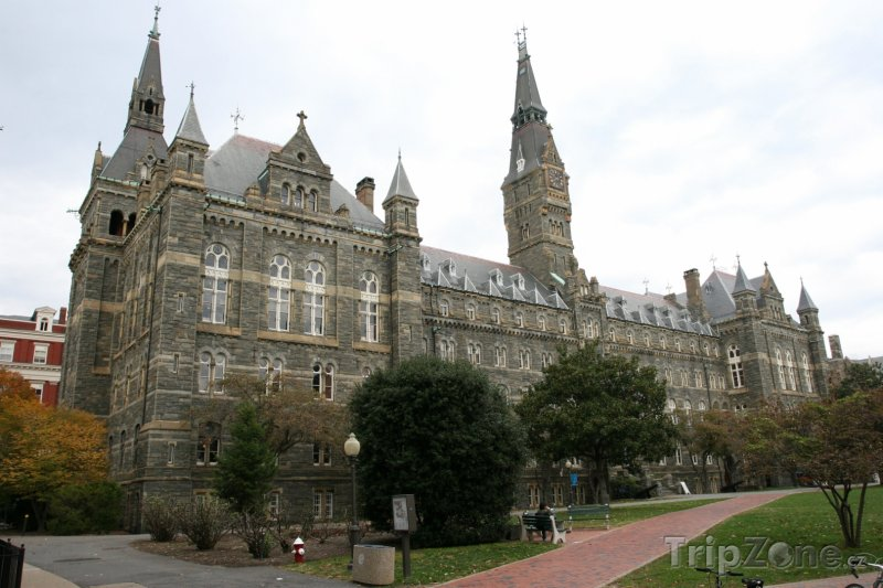 Fotka, Foto Georgetown University (Washington D.C., USA)