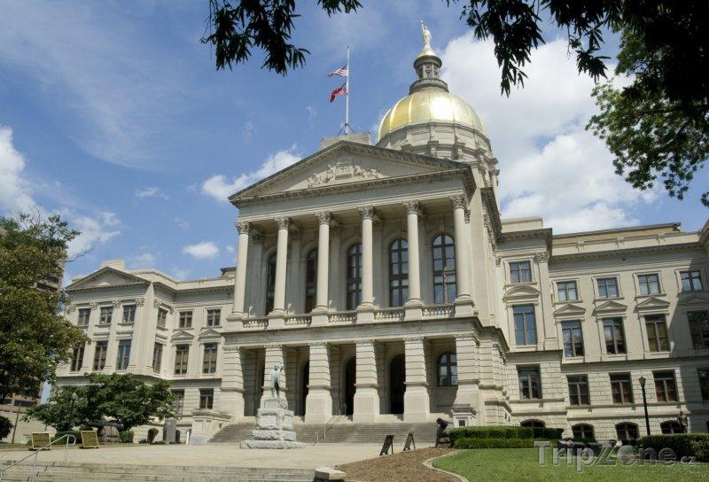 Fotka, Foto Georgia State Capitol (Atlanta, USA)