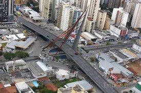 Goiania, most v centru města
