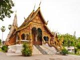 Hlavní síň ve Wat Chedi Liam