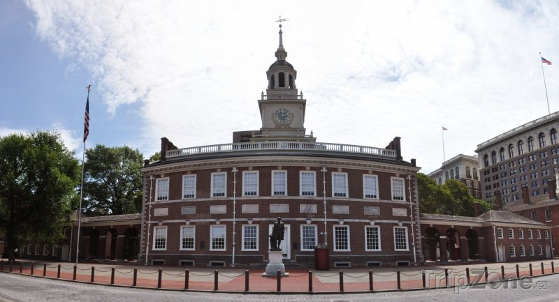 Fotka, Foto Independence Hall (Filadelfie, USA)