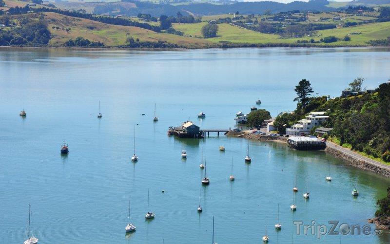 Fotka, Foto Jachty v Bay of Islands (Auckland, Nový Zéland)