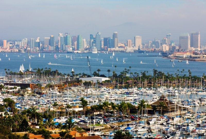 Fotka, Foto Jachty v přístavu (San Diego, USA)
