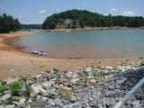 Jezero Lanier na okraji města