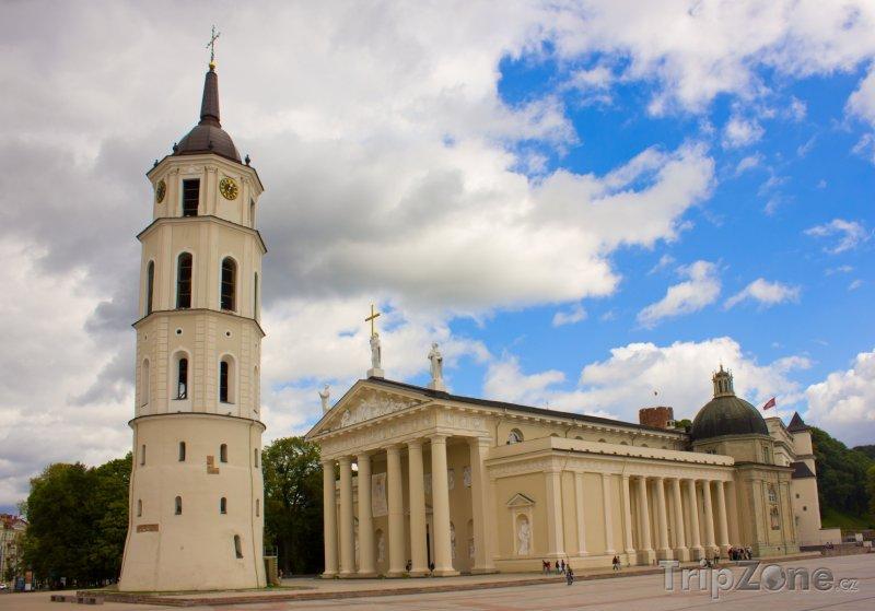 Fotka, Foto Katedrála a zvonice (Vilnius, Litva)