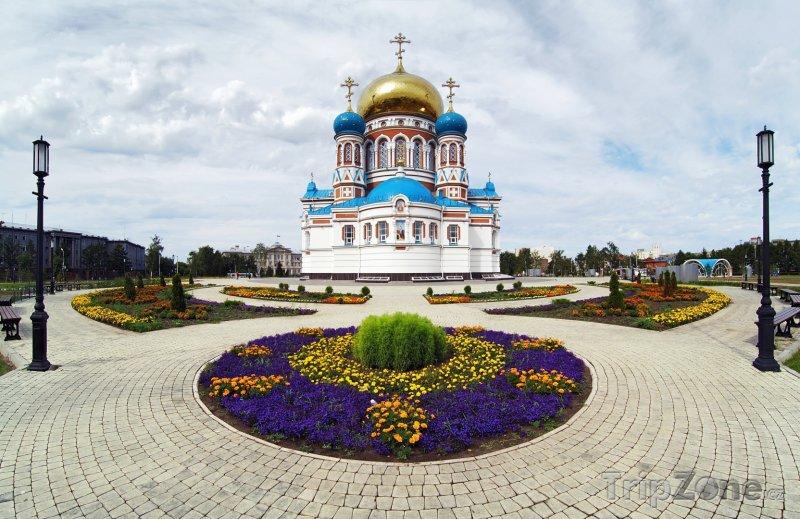 Fotka, Foto Katedrála v Omsku (Rusko)