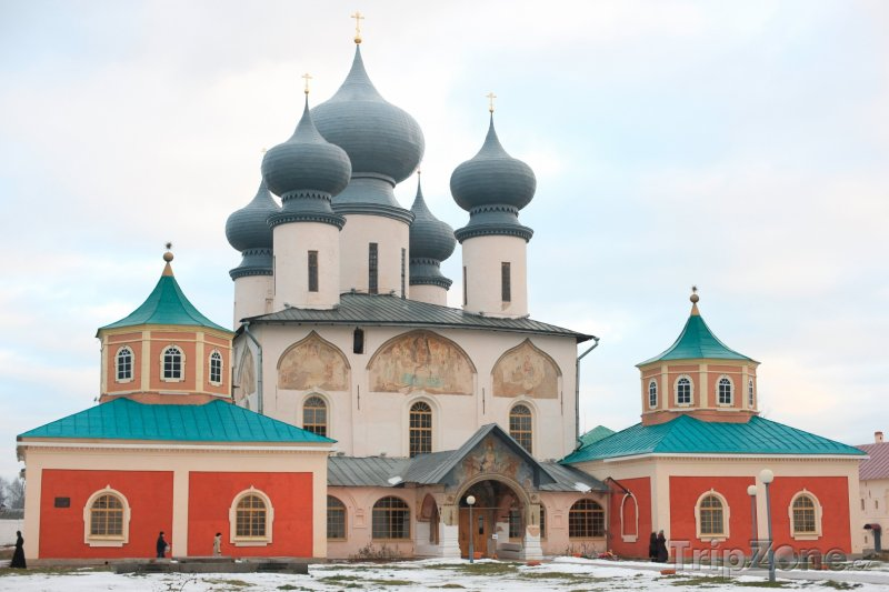 Fotka, Foto Klášter Tikhvin (Petrohrad, Rusko)