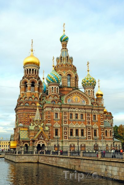 Fotka, Foto Kostel Spasitele v krvi (Petrohrad, Rusko)