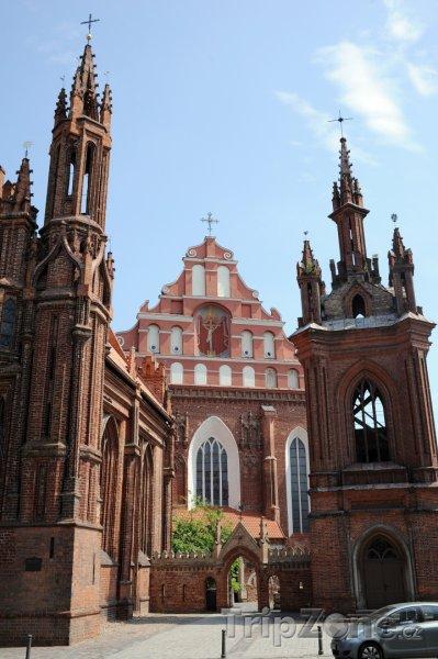 Fotka, Foto Kostel sv. Anny a sv. Františka (Vilnius, Litva)