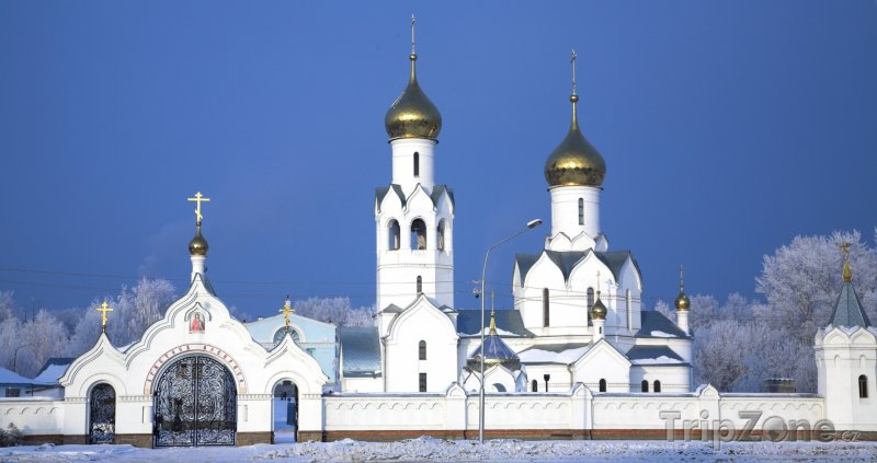 Fotka, Foto Kostel v Novosibirsku (Rusko)