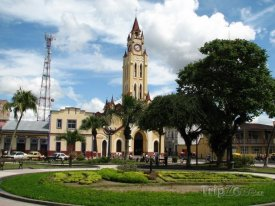 Kostel ve městě Iquitos