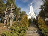 Kostel ve městě Utena