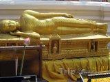 Ležící buddha ve Wat Phrathat Doi Suthep