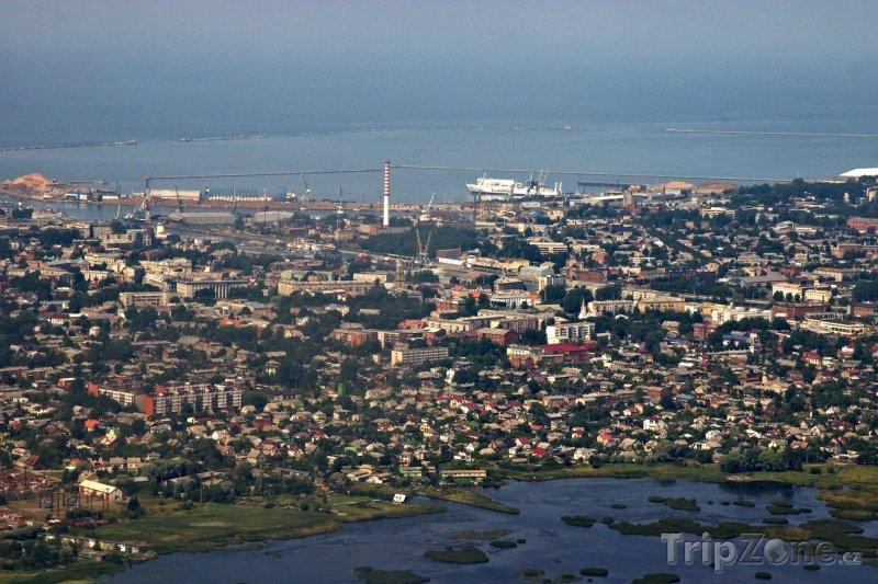 Fotka, Foto Liepaja panorama (Lotyšsko)