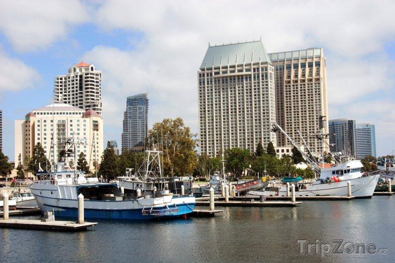 Fotka, Foto Lodě v přístavu (San Diego, USA)