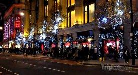 Londýn, vánoční Oxford Street