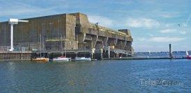 Lorient, ponorková základna Kéroman